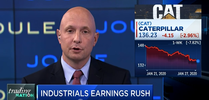 CNBC – Industrial stocks and earnings