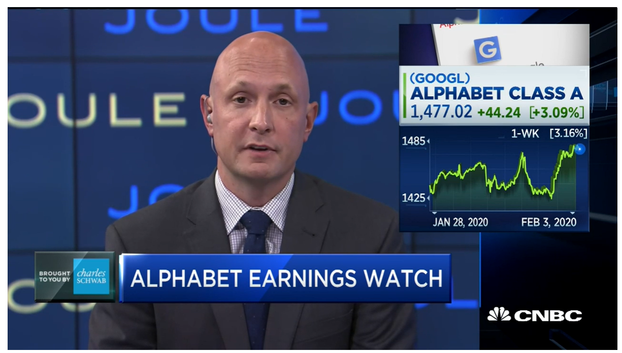 CNBC – Investing in Google