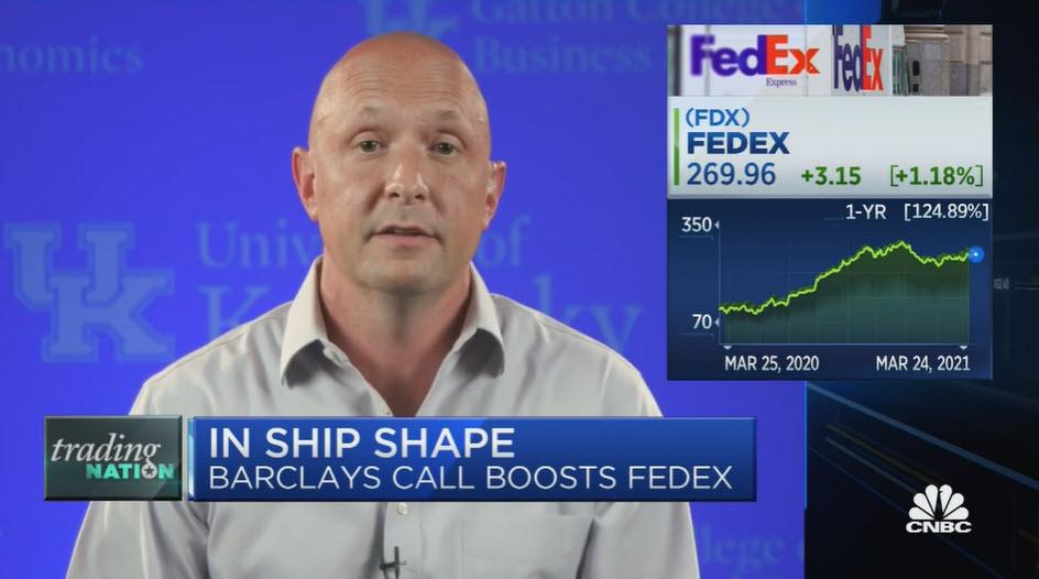 CNBC – FedEx & Industry SubGroups